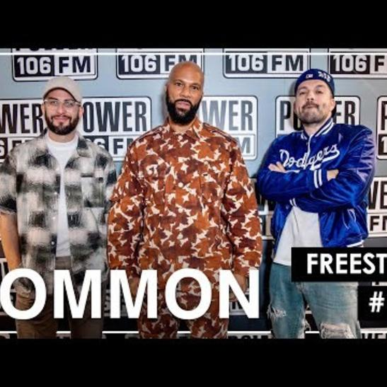 MP3: Common - Common L.A. Leakers Freestyle